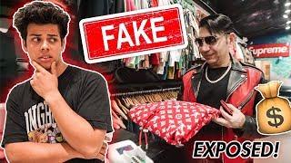 Billionaire FAKE Spends $40,000 Dollars Hypebeast Shopping!