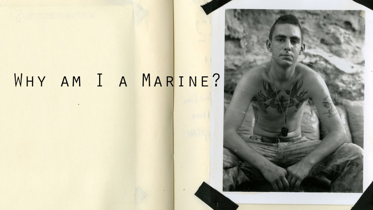 why i want to be a marine