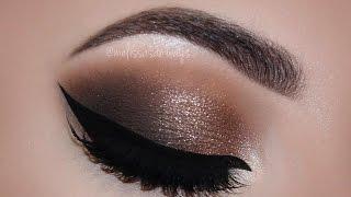sexy fall smokey eyes dark lips makeup tutorial   melissa samways