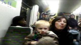 Racist Rant Caught on Video on London Train