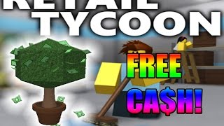[Roblox: Retail Tycoon] USING MONEY TREES!?!