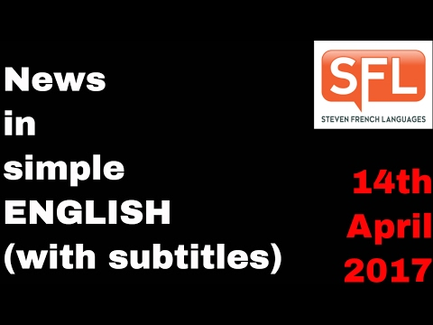 News In Simple English With Subtitles
