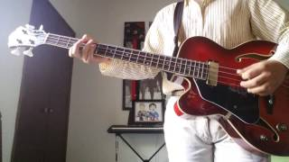 Think for yourself - The beatles (bass guitar cover)