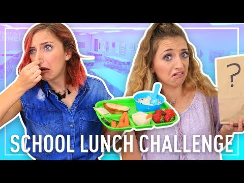 EXTREME GROSS-OUT SCHOOL LUNCH CHALLENGE 🤢 | Back to School Fun