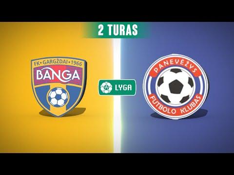 Banga Gargzdai FK Panevezys Goals And Highlights