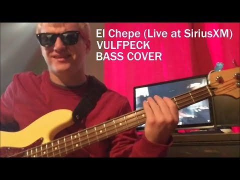 El Chepe (Live at SiriusXM) /// Bass Cover /// Vulfpeck