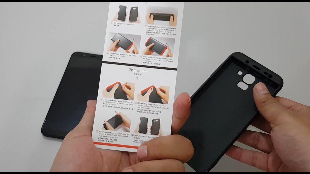 the latest 6d124 26a2b Samsung Galaxy J6 360 Case Review - Black