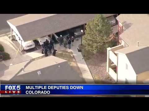 Deputy killed, several others injured in Colorado shooting
