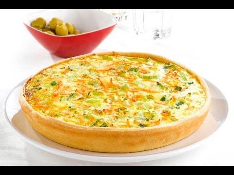 quiche de verduras y pollo 1 receta f cil youtube On quiche de verduras facil