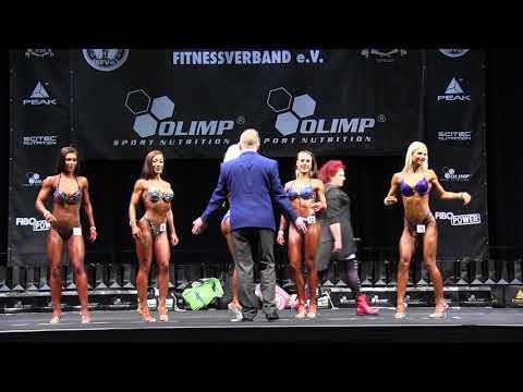 Bikini Fitness -163cm Vorwahl // Int. Deutsche Meisterschaft 2017