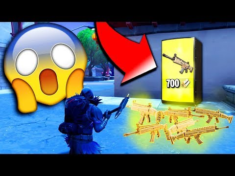 """VENDING MACHINE ONLY"" Challenge On Fortnite: Battle Royale! (Win But Vending Machine Only)"