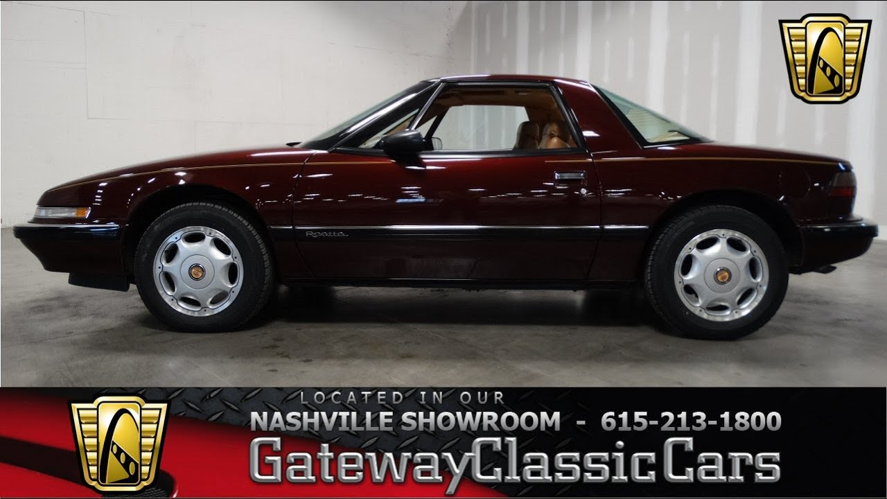 hight resolution of 1991 buick reatta gateway classic cars of nashville 88