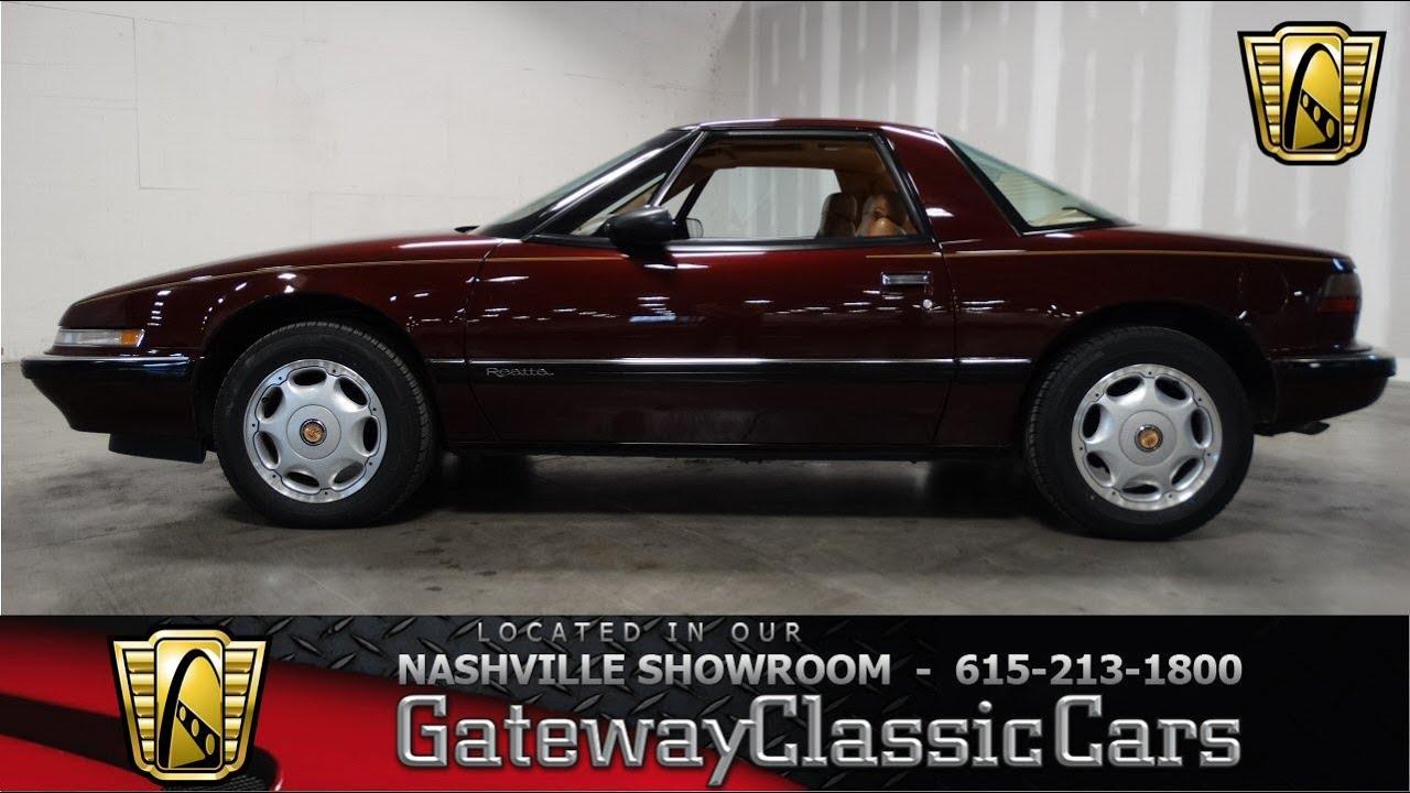 1991 buick reatta gateway classic cars of nashville 88