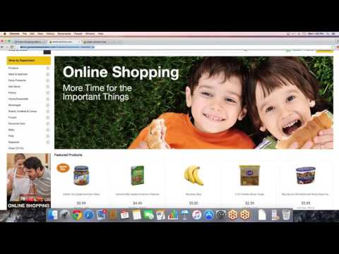Webinar Wednesday - Online Grocery Shopping