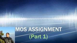 MOS Assignment 5 Part 1 (Document)