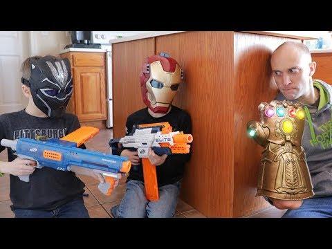 Nerf Series:  Avengers Infinity Gauntlet (Spoilers)