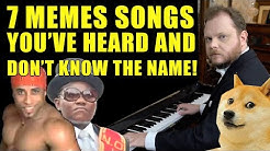 7 Memes Songs You've Heard And Don't Know The Name