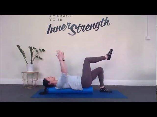 20 mins Pilates - Foam Roller Exercises