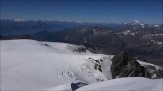 Klein Matterhorn-Breithorn(4164m)-Testa Grigia-Theodulgletscher-Hirli-Zermatt,Valais,Suisse,27-8-16