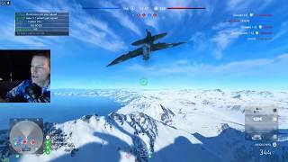 BFV - Air to air combat | Spitfire MK VA | Fjell 652