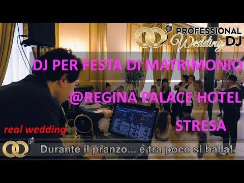 DJ per Matrimonio a Stresa - Regina Palace Hotel