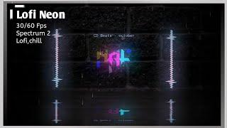 Neon Lofi | Avee player template