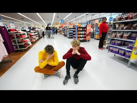 WE LOST OUR LITTLE SISTER IN WALMART.. thumbnail