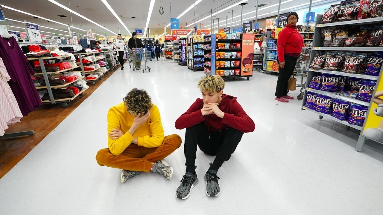 we lost our little sister in walmart youtube
