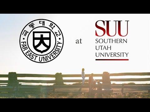 Far East University short-term program at Southern Utah University, 2017