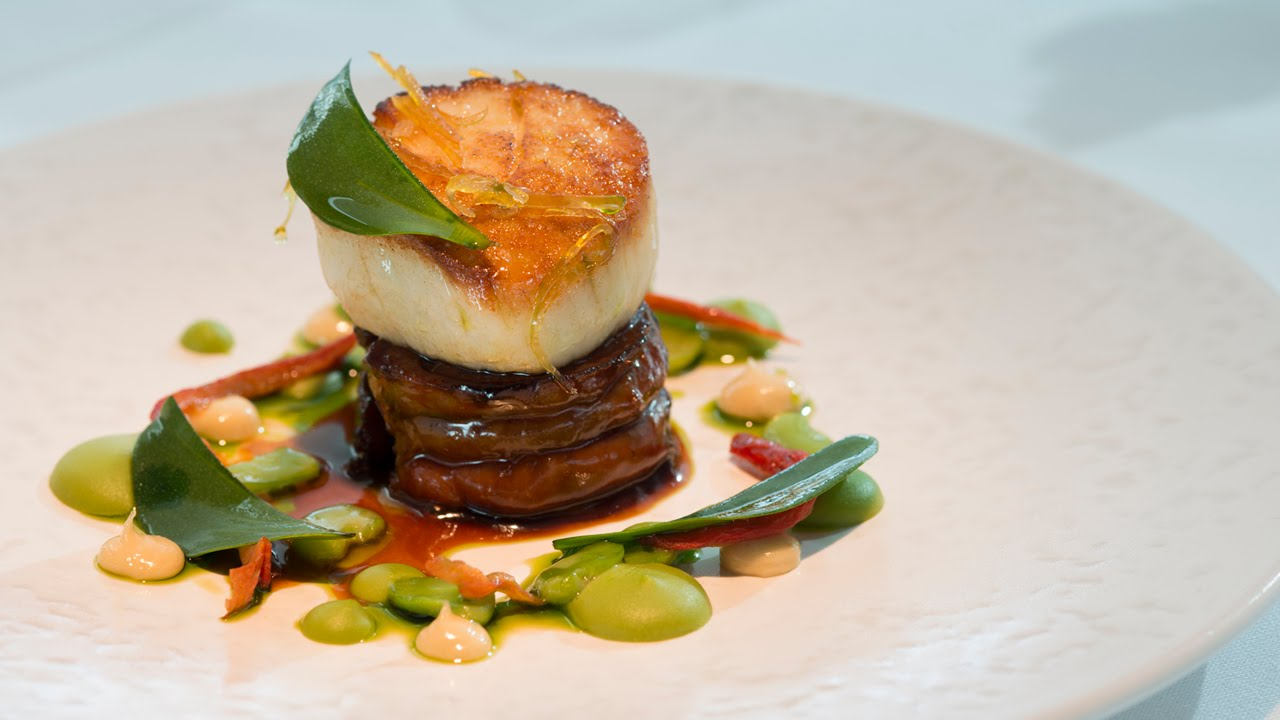 Tony Fleming S Scallop With Meantime Pale Ale Braised