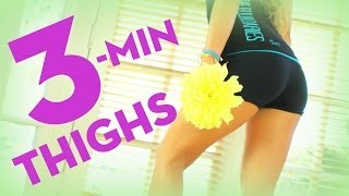 3 Minute Thighs | POP Pilates Song Challenge