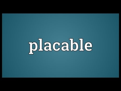Header of placable