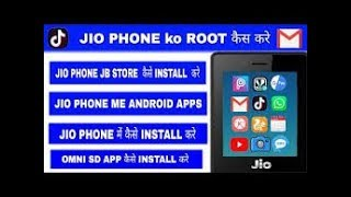 How to install jio phone in jb store or omni sd app