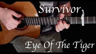 Survivor - Eye Of The Tiger - Fingerstyle Guitar
