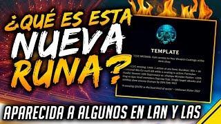 ¿QUÉ ES ESTA NUEVA RUNA aparecida en LAN y LAS? | Noticias League Of Legends LoL