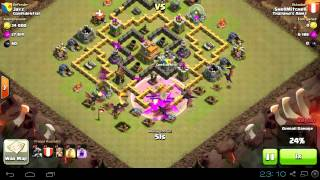Clash of Clans - Clan Wars - Thailand's Army vs Confidential รอบที่ 1