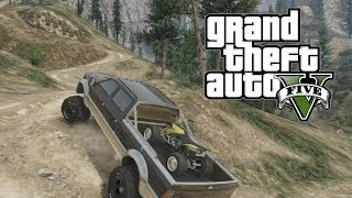 GTA 5: Off-Road Hauling An ATV (Grand Theft Auto 5 For Pros)