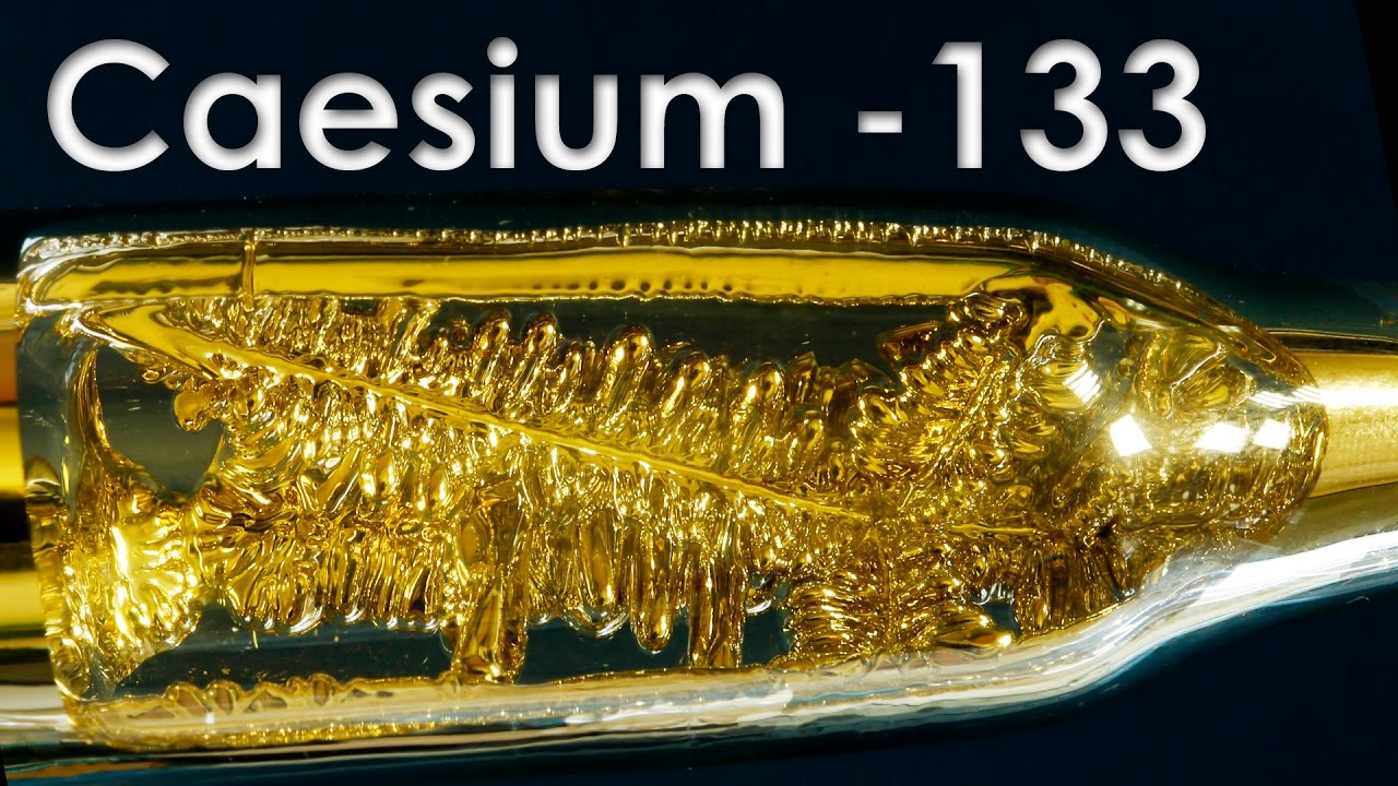 Cesium The Most Active Metal On Earth Youtube