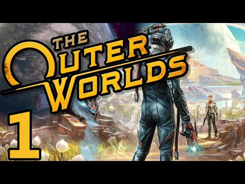 This Game Is Beter Then Fallout 76 THE OUTER WORLDS Playthrough Gameplay Part 1