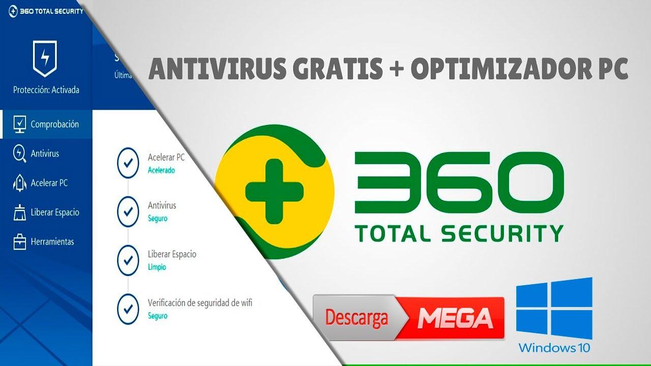 descargar antivirus 360 security gratis en español