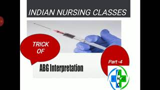 (*TRICK*) ABG INTERPRETATION,ACID BASE BLANCE PART -4 (TRICK )ABG