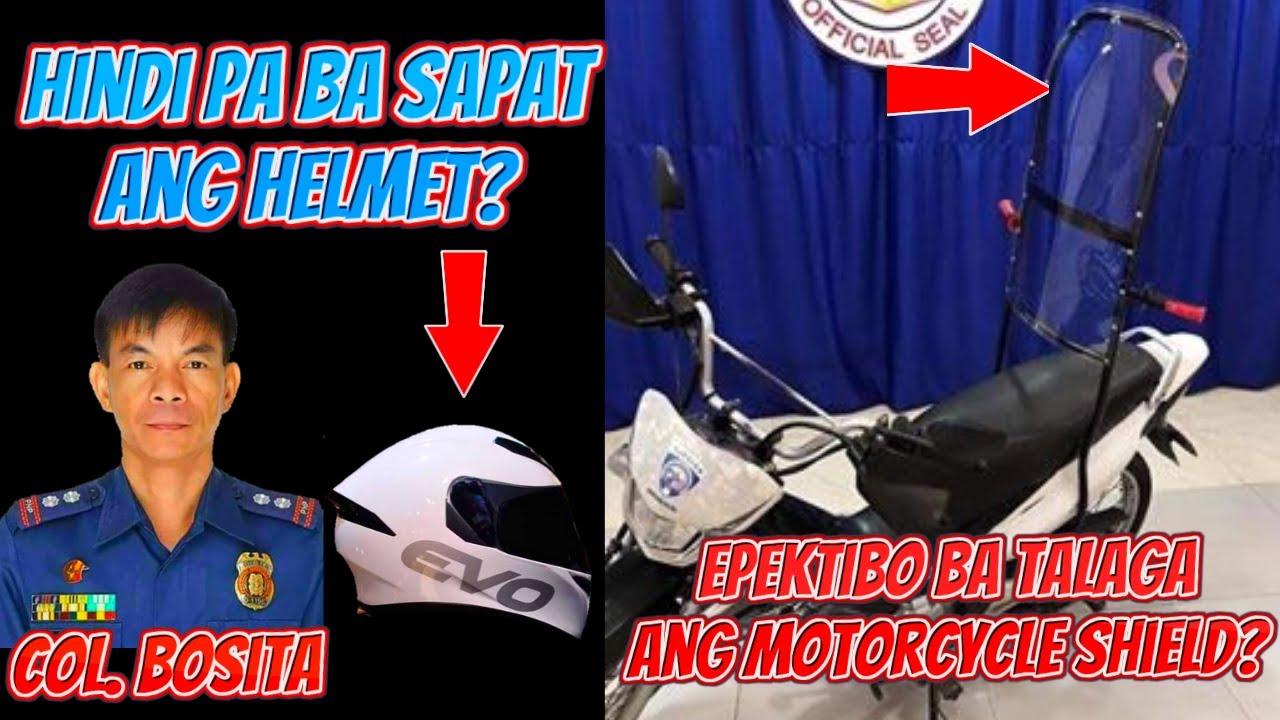 SOLUSYON BA TALAGA ANG MOTORCYCLE SHIELD PARA SA MGA MOTORISTA NA MAY ANGKAS? | SHOUTOUTS!