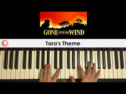 Richard Clayderman -Tara's Theme (from Gone With The Wind) (Piano Cover) | Patreon Dedication #213