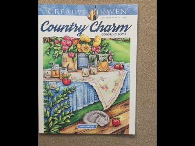 Country Charm Creative Haven Flip Through