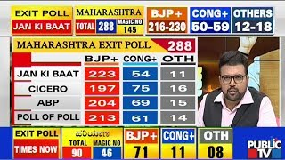 Discussion With Panelists On Exit Polls | Maharashtra, Haryana Assembly Elections