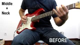 1996 Squier Stratocaster Upgrade