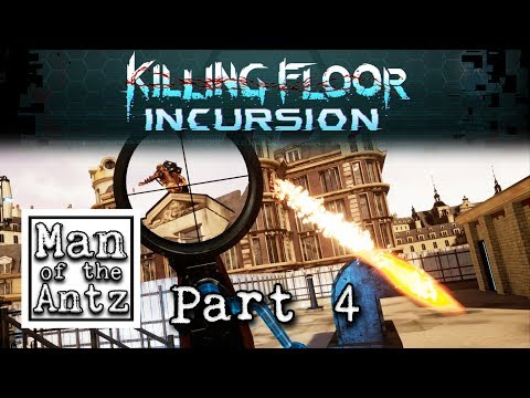 Sniping the flying fireball boss' | Killing Floor Incursion on Oculus Touch - Part 4