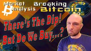 Bitcoin 'Flash Crash' Halts the Parabolic Advance!  Was It Manipulation or Fear?  Live Analysis BTC