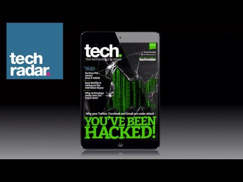 Apple iPad hacked! tech. magazine's latest interactive cover