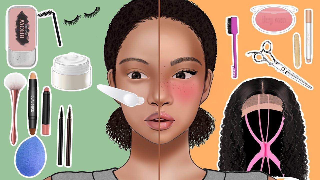 [MAKEUP]힙한 주근깨 메이크업 애니메이션😎/Freckles Makeup Animation